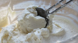 ricotta  mascarpone mixture