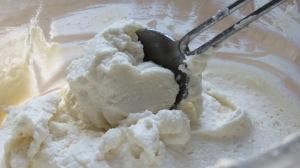 ricotta  mascarpone mixture